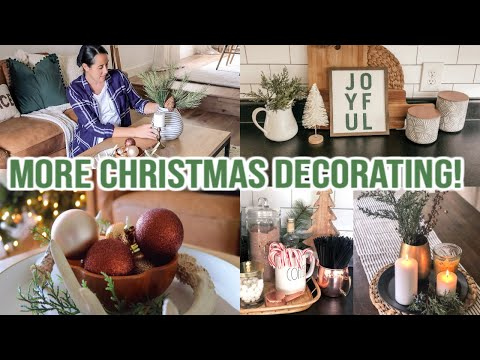 *NEW* CHRISTMAS DECORATE WITH ME 2019 | Dining Room & Kitchen Christmas Decor | Cook with Me