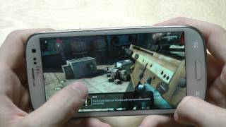 Modern Combat 3: Fallen Nation For Samsung Galaxy S3 First Gameplay & Hands-On