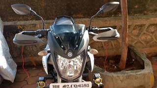 How To Install Hand Guards On Any Motorcycle/Scooter | Bike Modifications Customisation
