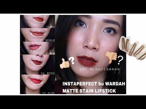 terbaru!-wardah-instaperfect-mattetitude-matte-stain-lipstick-review-&-swatches-lengkap!