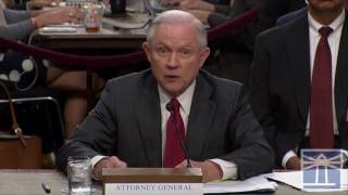 Not improper per se for president to meet with FBI director | Sessions testifies