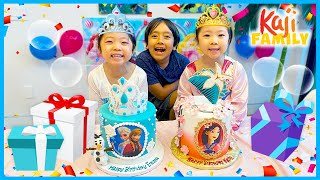 Princess Emma and Kate Happy Birthday Surprise Special!