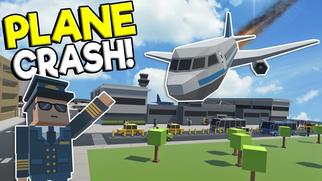 HUGE AIRPLANE CRASH & AIRPORT DISASTER! - Tiny Town VR Gameplay - Oculus  Rift Game