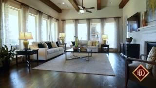 Darling Homes Woodforest Luxury Patio6734a Plan
