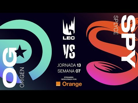 ORIGEN vs SPLYCE | LEC | Spring Split [2019] League of Legends