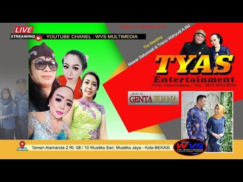 STREAMING TYAS ENTERTAINMENT // WVS PRODUCTION LIVE TAMAN ALAMANDA 2 // MALAM
