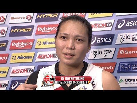 MATCH MVP: Honey Royse Tubino   PSL All-Filipino Conference 2017