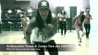 ZUMBA - Ella Es Mi Fiesta Remix - by Arubazumba Fitness