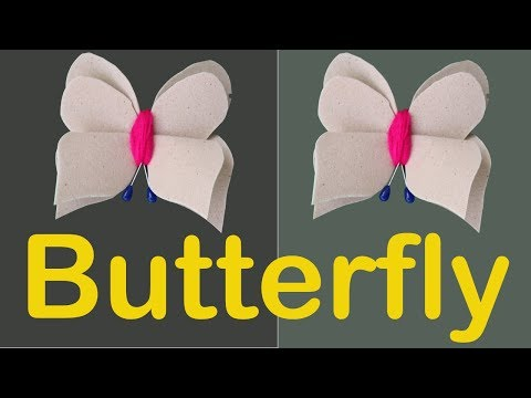Paper Butterfly -  Diy Paper Crafts