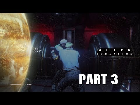 Sneaky Sneaky   Alien: Isolation Part 3 (Horror Game October)