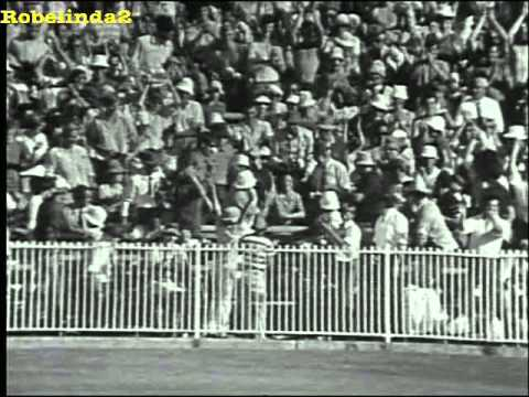1st six EVER in One Day Cricket, history made by Ian Chappell 1971 5th January