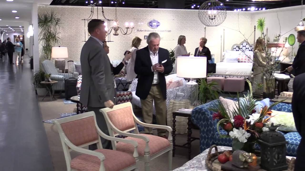 High Point Market Scenes From Opening Day Youtube