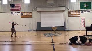Gateway Middle School Talent Show - Poi Ball Dance - performed by Aaliyah Lutali - 5.25.2018