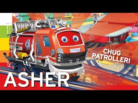 Chuggington  Meet Fire Patrol Chugger Asher