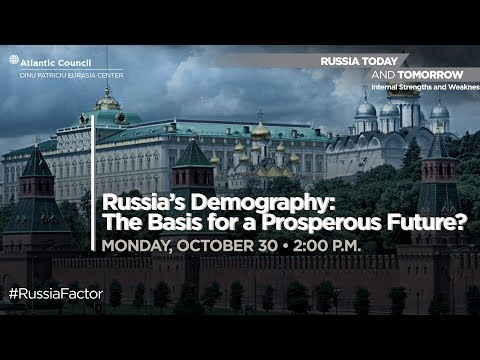 Russia's Demography: The Basis for a Prosperous Future?