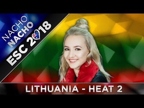 top-12-(heat-2)-lithuania-esc-2018-(eurovizijos-atranka-preselection)