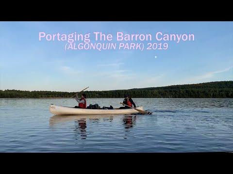 Portaging The Barron Canyon (Algonquin Park)