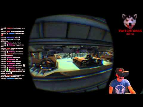 Lobos Plays Alien: Isolation w/ Oculus Rift (Part 1)