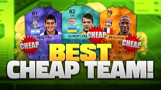 BEST CHEAP TEAM!