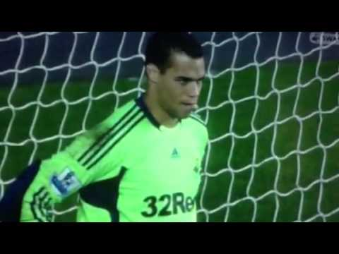Swansea VS Fulham 2011/12 season 2-0