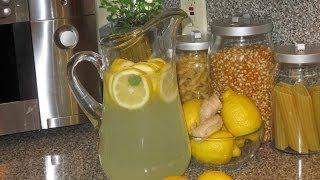 Lemon & Ginger Detox Water