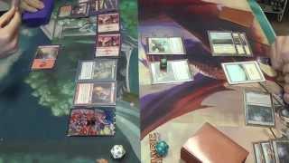 Modern Magic — Rakdos Burn (Splashing Jund) vs. Death and Taxes