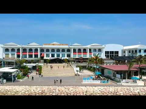 Discovery Shopping Mall Kuta Bali from Drone