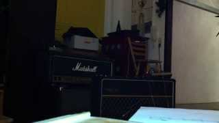 Late 60s Vox AC30 with Celestion Silverbells and an Electro Harmonix Memory Man Deluxe