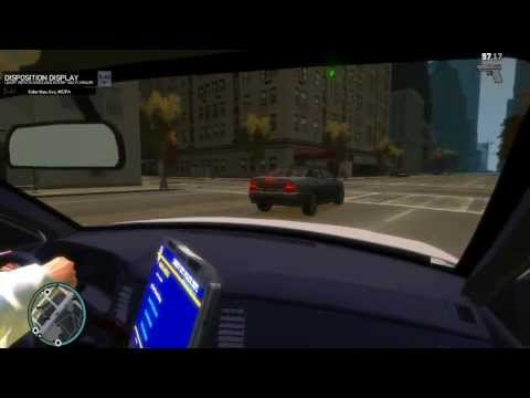 "GTA IV: NYPD clan: Patrol with Bureau Chief Black - ""Nedosažitelné Donuty"""