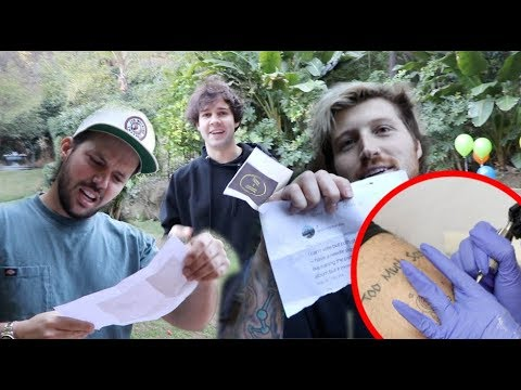 WE LET SUBSCRIBERS CHOOSE OUR TATTOOS!?