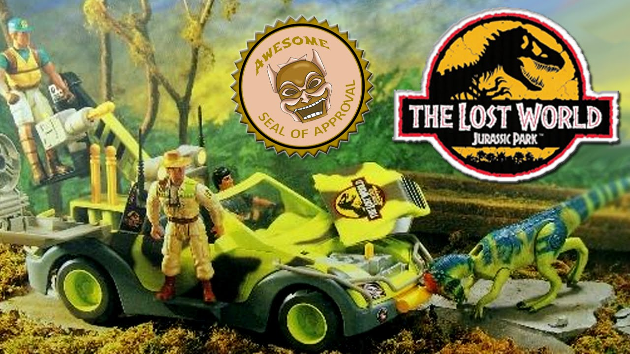 6dc81ed825cf Jurassic Park Toys (TLW Series 1) - Ground Tracker Review - YouTube