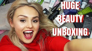 HUGE Beauty Unboxing | Makeup | Skincare | With Social Network Soulotions