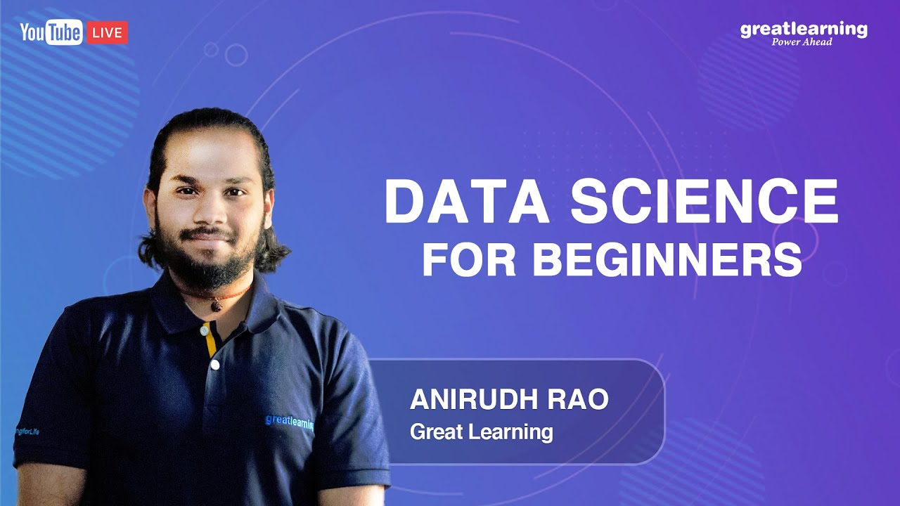 Data Science for Beginners | Data Science Tutorials