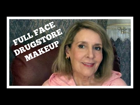 Full Face Drugstore Makeup, Trying Something New + Just Chatting thumbnail