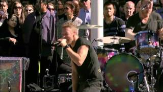Coldplay - Every Teardrop Is A Waterfall (Live) @ Apple Steve Jobs Memorial