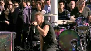 Coldplay  Every Teardrop Is A Waterfall (Live) @ Apple Steve Jobs Memorial