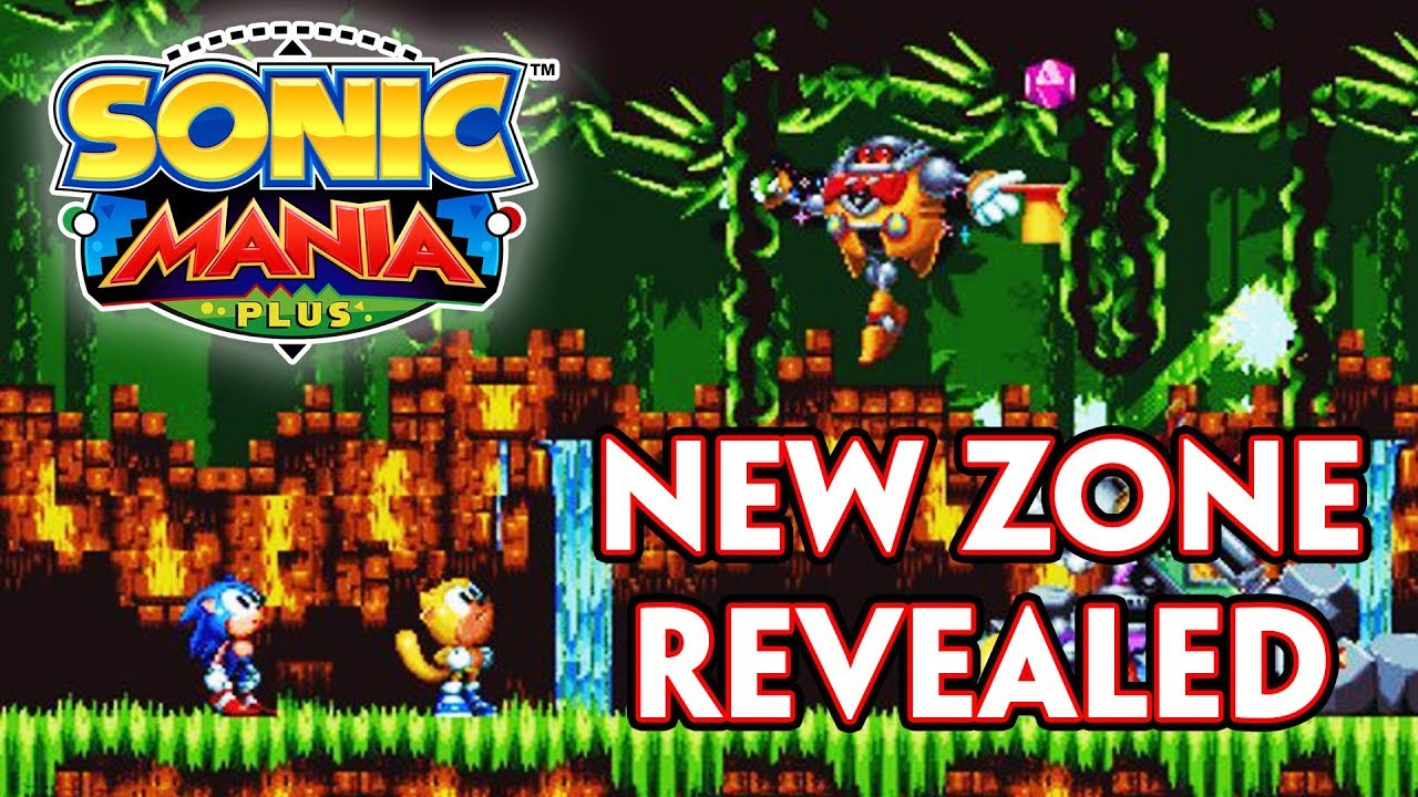 NEW ZONE IN SONIC MANIA PLUS REVEALED  NEW STAGE THEMES  STORY     NEW ZONE IN SONIC MANIA PLUS REVEALED  NEW STAGE THEMES  STORY DETAILS AND  MORE