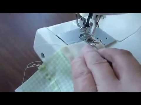 Шьем сами. Правильные швы для постельного белья. - YouTube