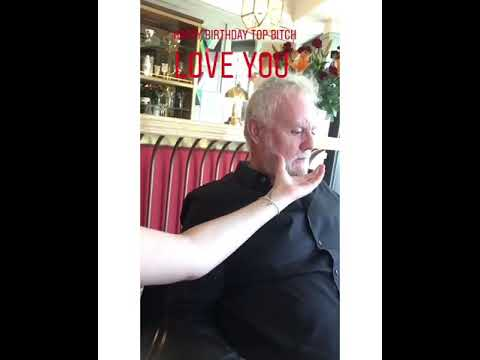 Instagram story of Lola Taylor celebrating her father's birthday RogerTaylor