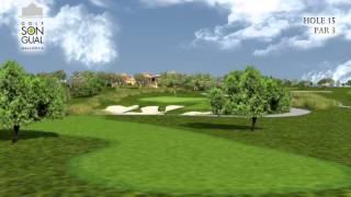 Hole 15 Golf Son Gual Mallorca