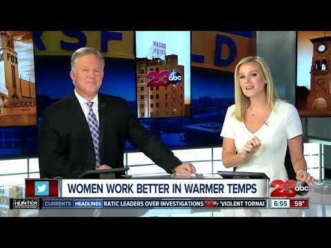 Brady - Productivity For Women Is Effected By Temperature?