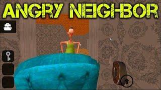 Angry Neighbor Android Сосед улетает на второй этаж Жми на 🔔 чтобы не пропустить новые видео
