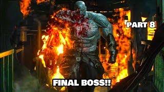 FINAL BOSS!!   Resident Evil 2 Remake Gameplay #08