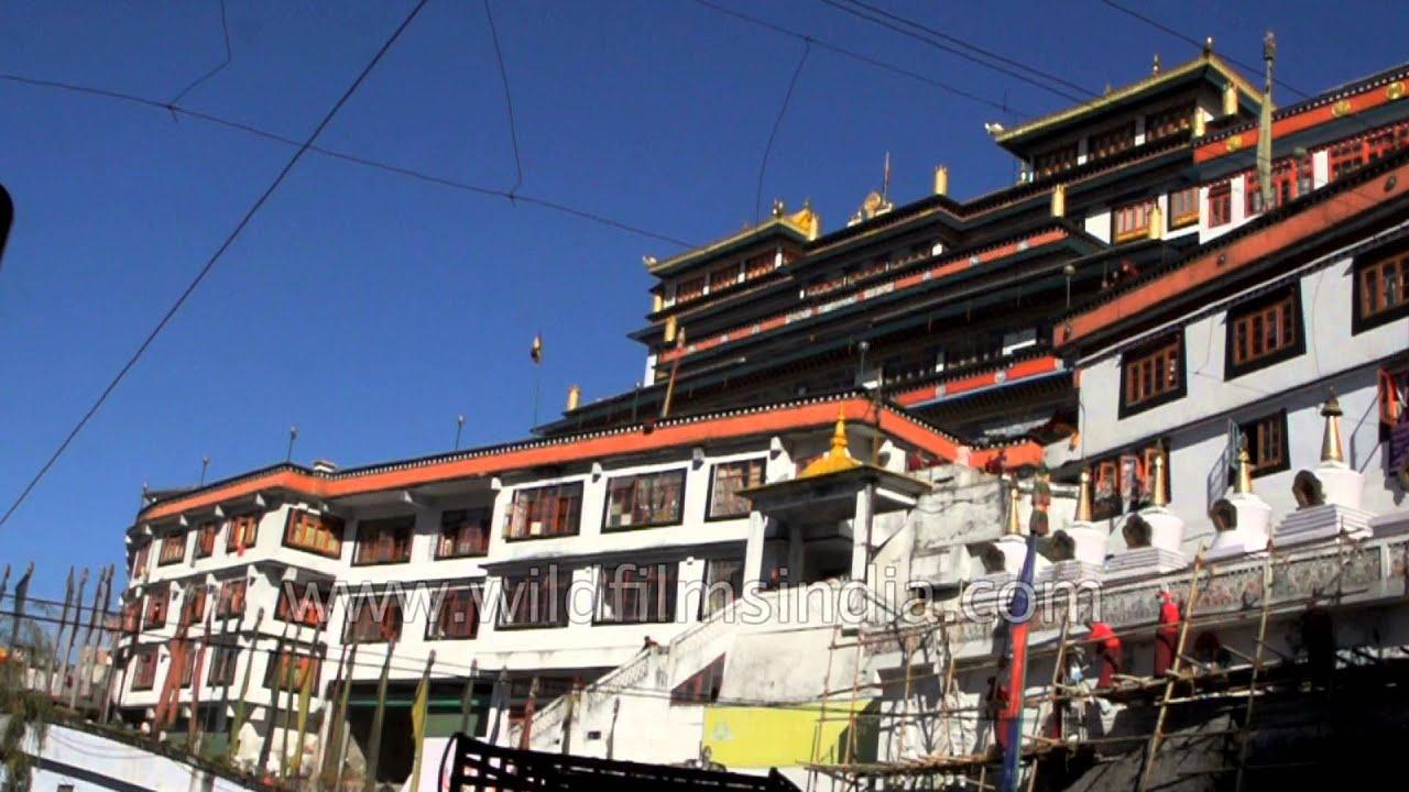 Druk Thupten Sangag Choeling Monastery In Darjeeling Youtube