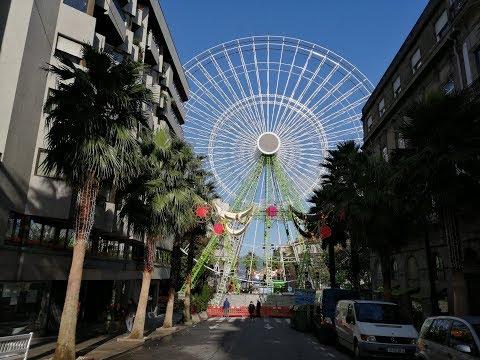 La canción sobre la noria de la Navidad en Vigo