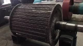 Проведение капитального ремонта ротора для роторной дробилки СМД-75А