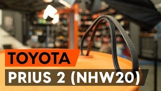 Reparation TOYOTA PRIUS själv - videoinstruktioner online