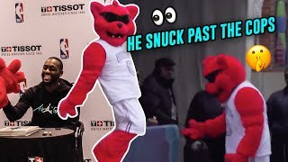 WHERE IS MICHAEL JORDAN!? The Charlotte Bobcat Sneaks Into All Star Weekend! KEMBA WALKER HELPS!?