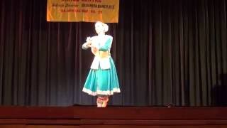 Nathalie Masson Kathak - Thumri Jaage Ho Kahi Rain (Pt. Birju Maharaj) - Khandita Nayika