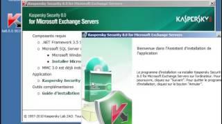 Kaspersky Security 8.0 for Microsoft Exchange Servers - INSTALLATION (1)